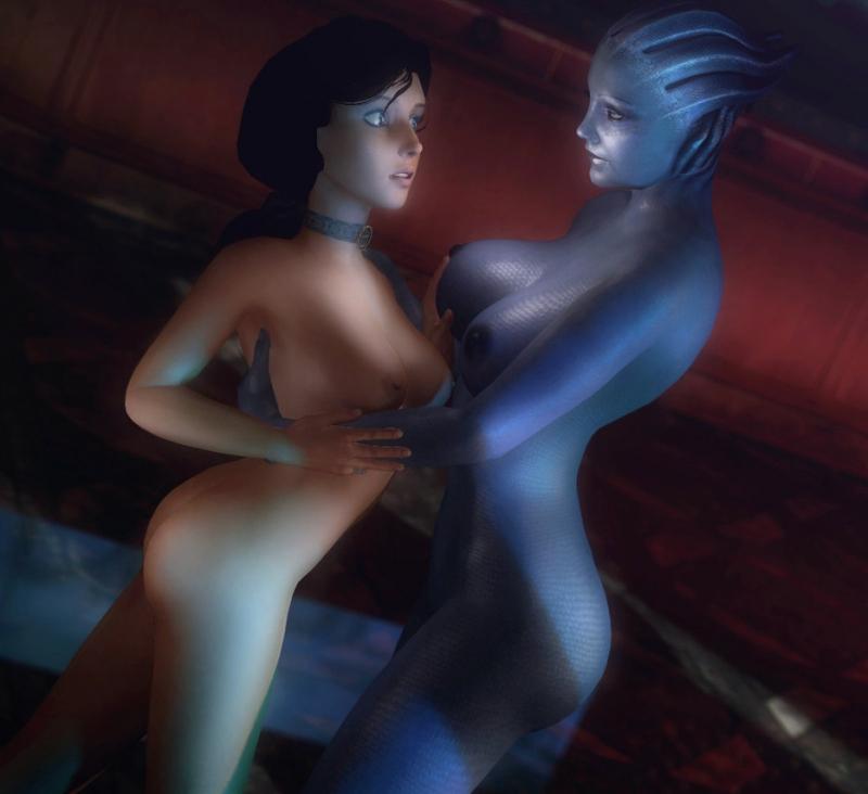 1401753 - Asari Bioshock_Infinite Elizabeth Liara_T'Soni Mass_Effect Rastifan crossover.jpg