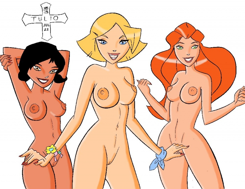 Totally Spies Porn Xxx