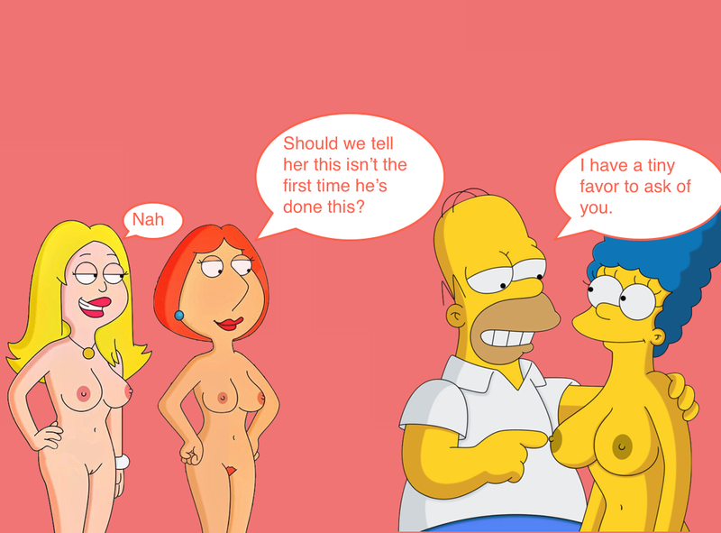 1600916 - American_Dad Ballron Family_Guy Francine_Smith Homer_Simpson Lois_Griffin Marge_Simpson The_Simpsons WVS crossover.jpg