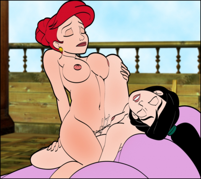 Belle And Ariel Comic