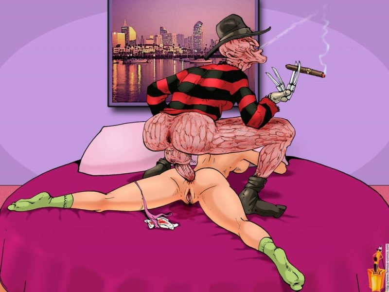 400106 - Famous_Comics Freddy_Krueger Nightmare_on_Elm_Street.jpg