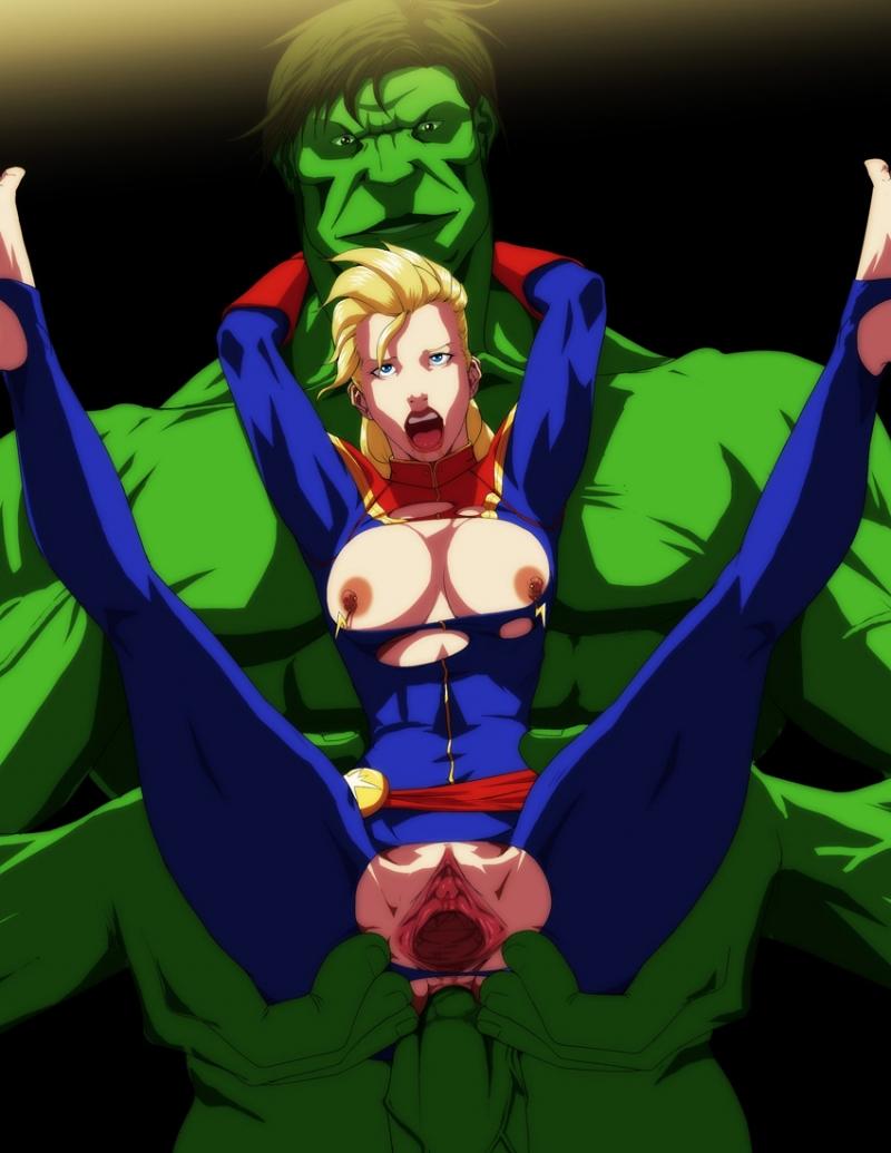 Hulk She-Hulk Abomination 1472504 - Avengers Captain_Marvel Carol_Danvers Hulk Marvel RaliugaXXX.jpg