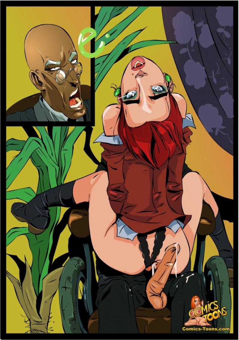 X-Men Hentai Porn Doujinshi