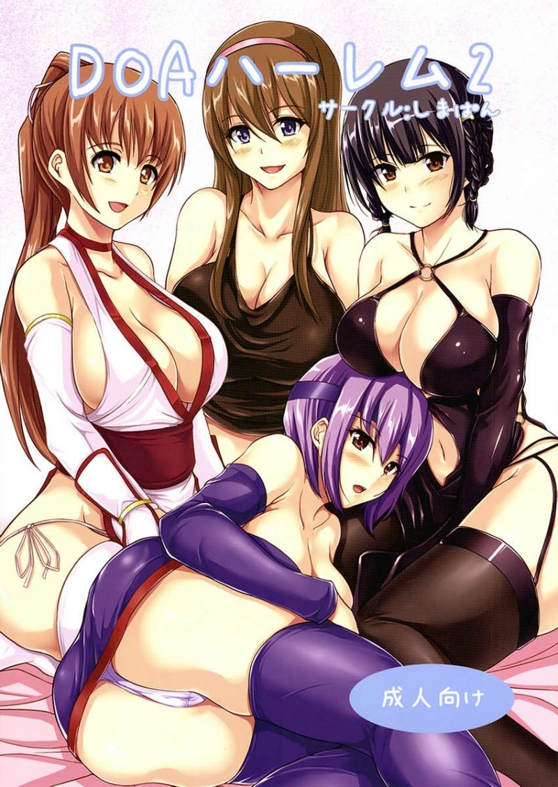 DOA Harem 2: For scorching bitches for one rock rock hard sausage!