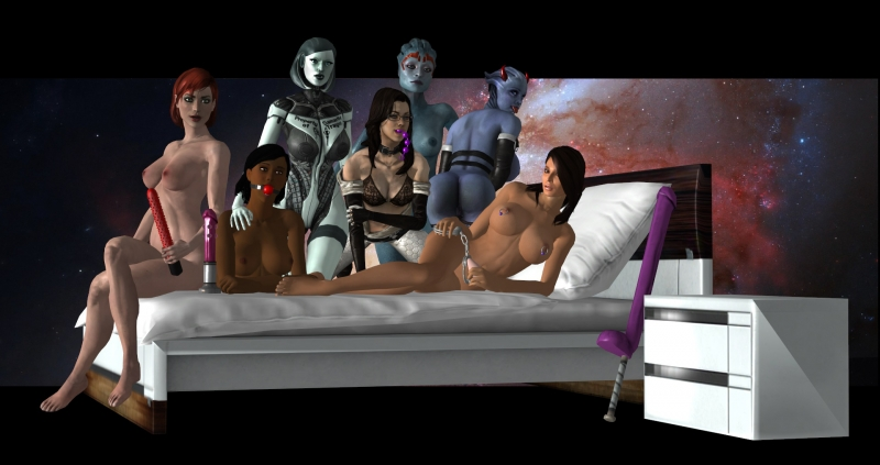 1464189 - Ashley_Williams Commander_Shepard EDI FemShep Liara_T'Soni Mass_Effect Mass_Effect_3 Miranda_Lawson Samantha_Traynor Samara.jpg