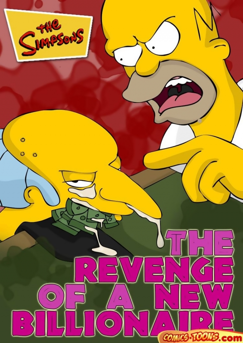 The Simpsons Porn Comics - The revenge of a new billionaire
