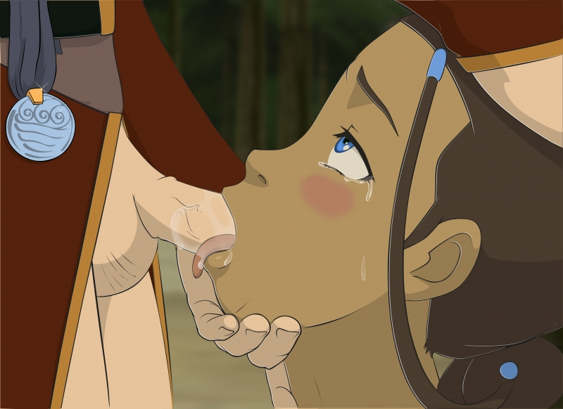 Killer Katara like gargle huge sausage