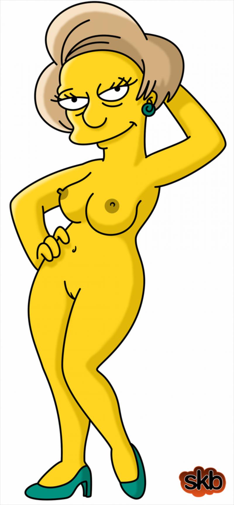 Ms. Krabappel  Marge Simpson Maude Flanders Bart Simpson MilHouse