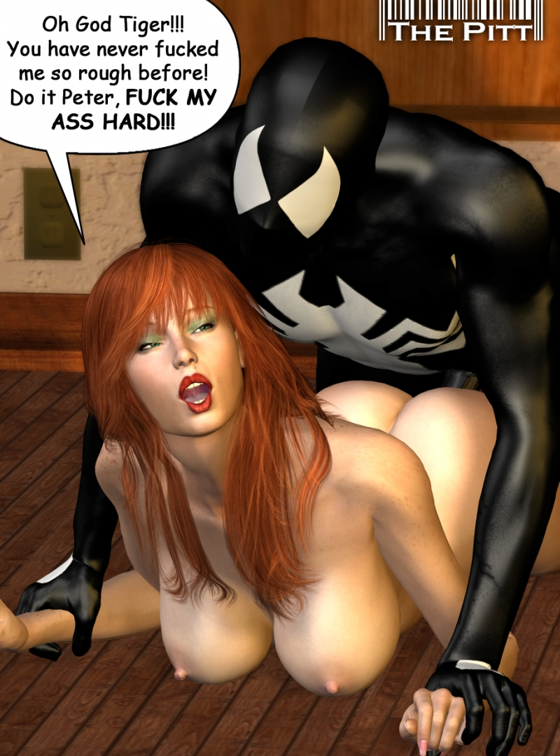 Mary Jane Watson Spider-man 1358432 - Marvel Mary_Jane_Watson Peter_Parker Spider-Man The_Pitt.jpg