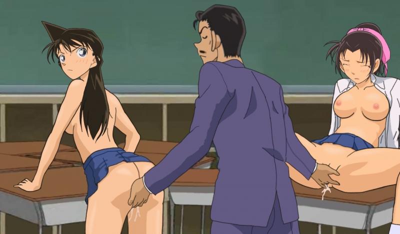 Ran Mouri Kazuha Toyama 1009939 - Detective_Conan Kazuha_Toyama Kogoro_Mouri Ran_Mouri.jpg
