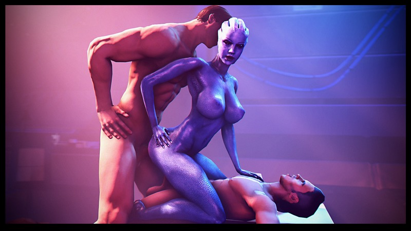 Mass Effect Samara Sex Scene