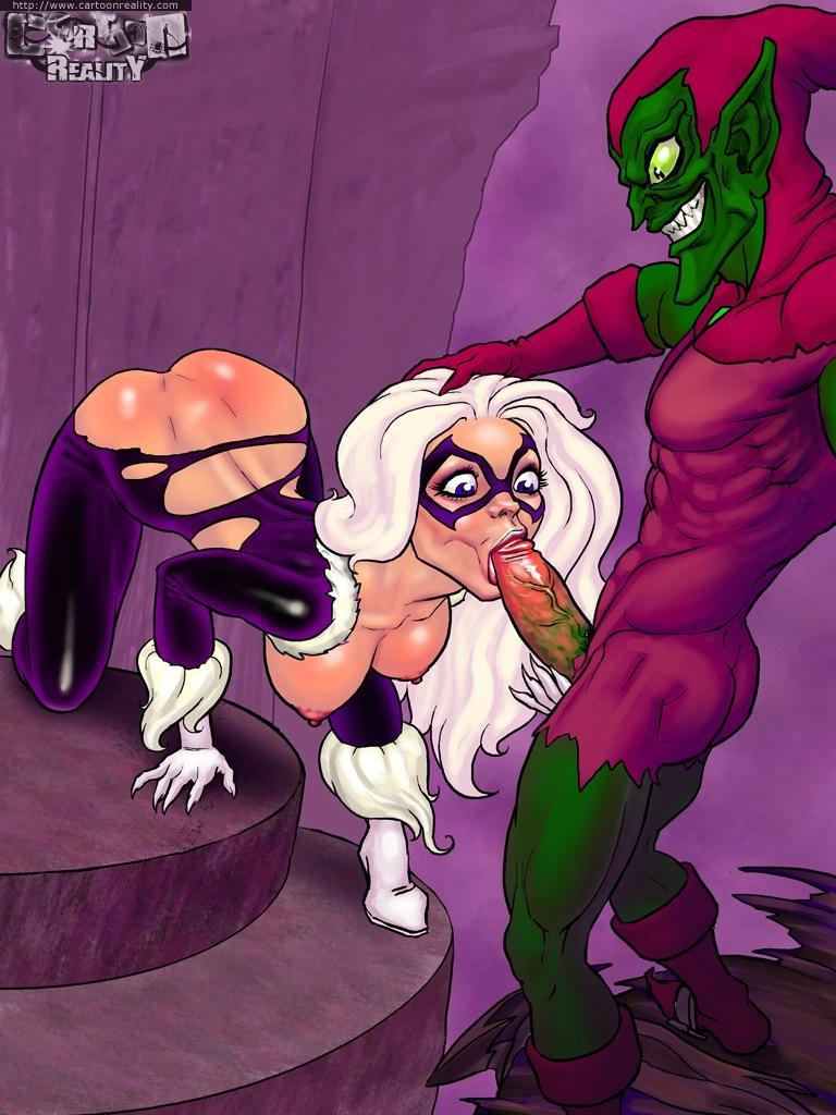 Spider-man Hentai