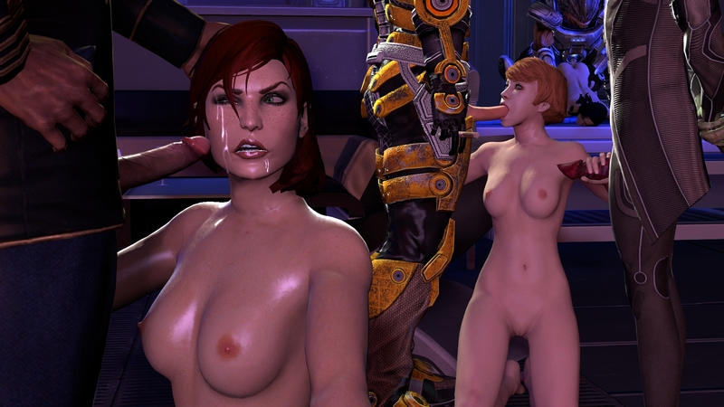Mass effect kelly chambers porn
