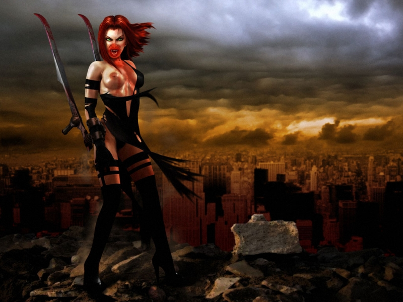 Bloodrayne Cumshot Game