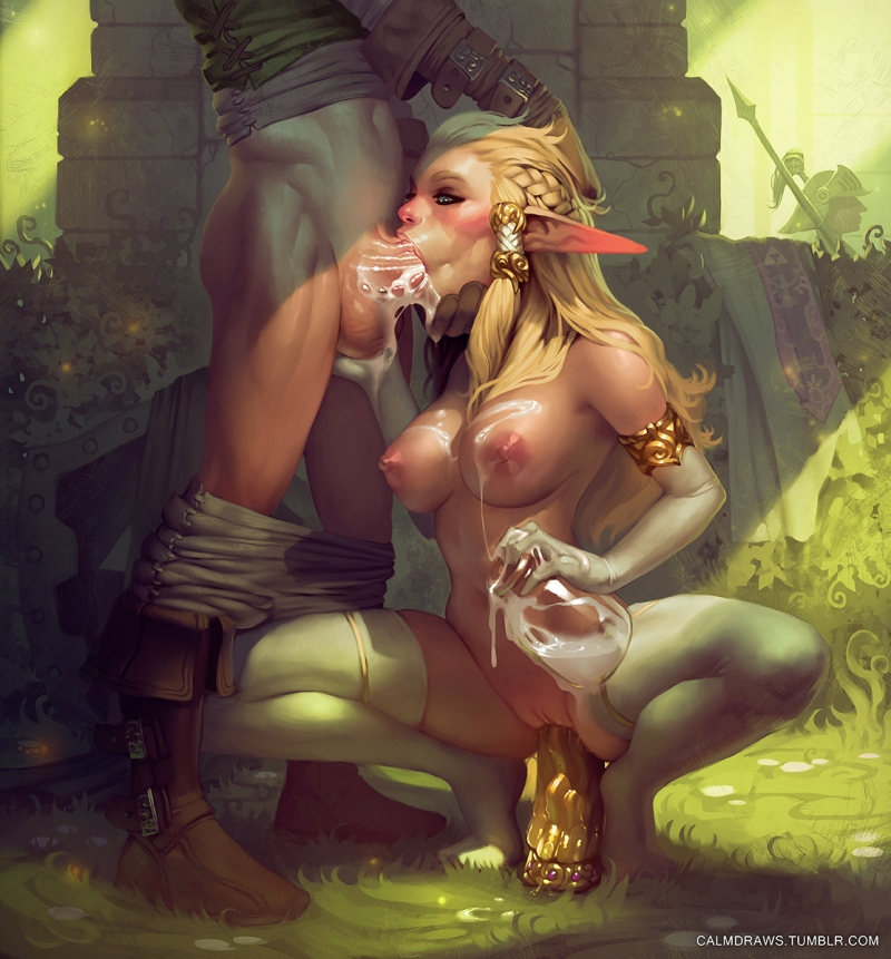 Zelda And Princess Peach Hentai