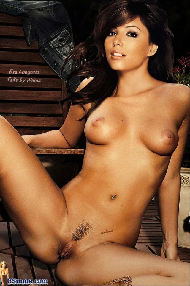 Eva longoria fake nude celebs