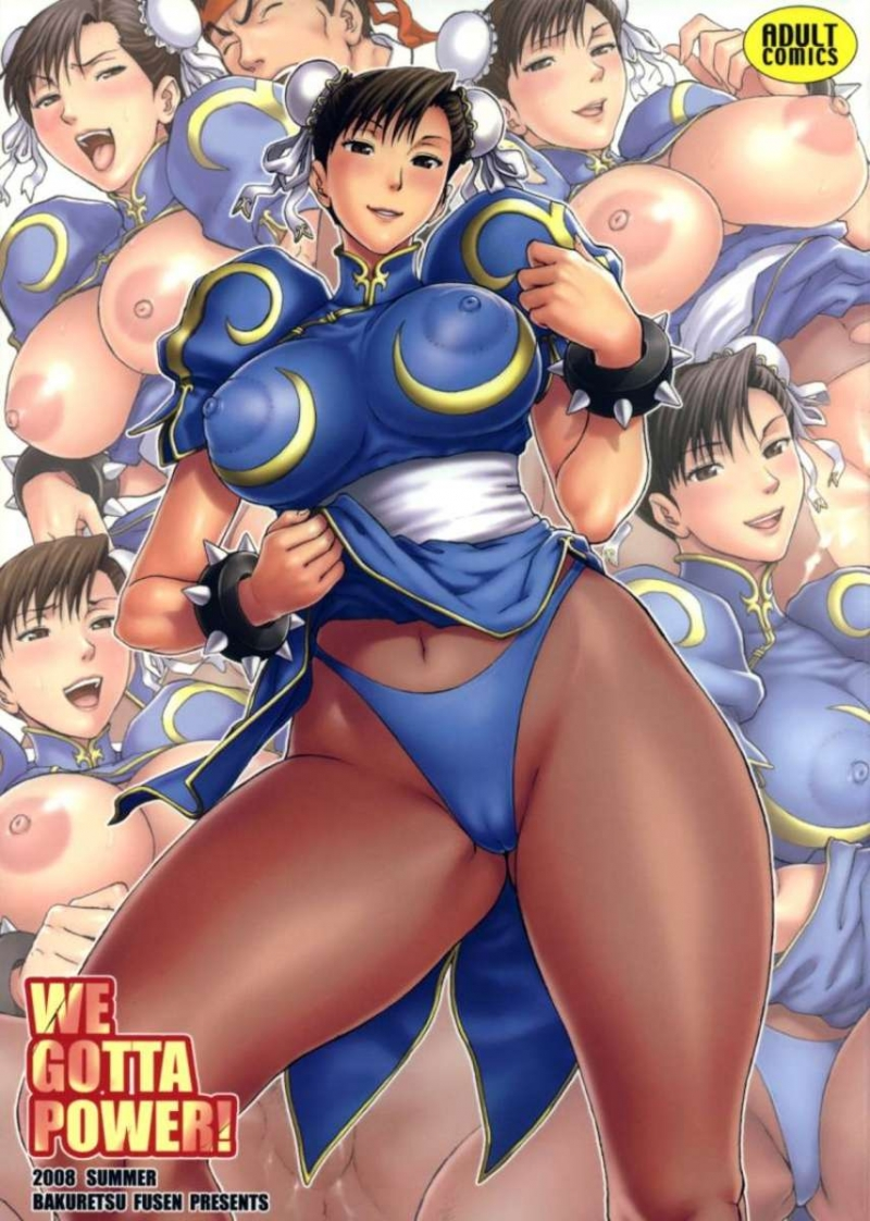 WE GOTTA POWER! [Street Fighter]: Chun Li vs Ryu!