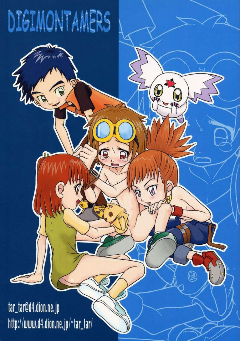 naked Digimon tamers takato