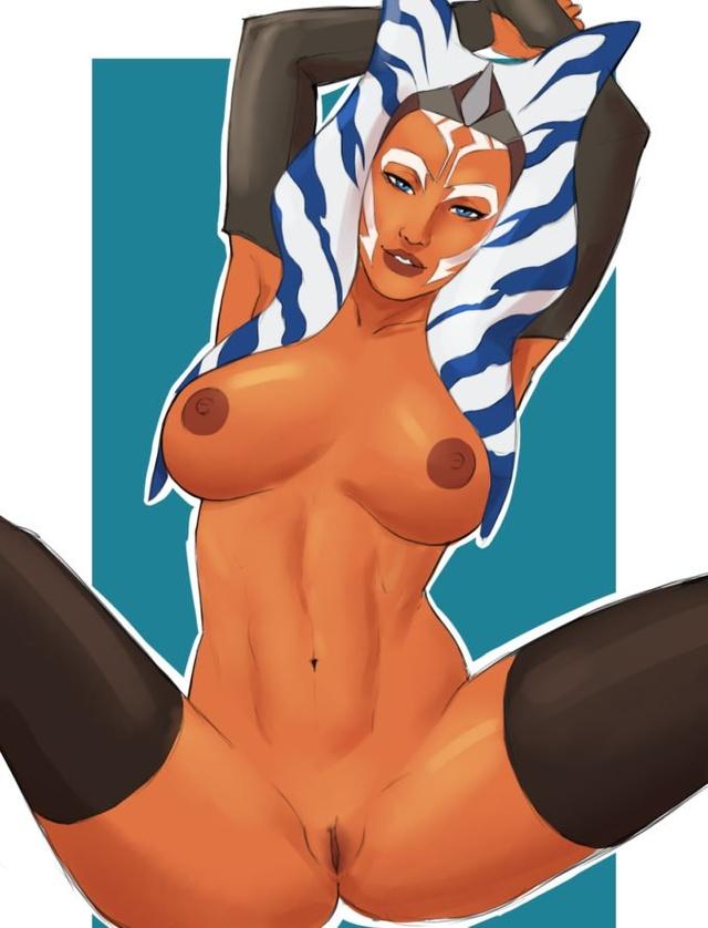Padme Amidala Ahsoka tano Shaak Ti Aayla Secura Ahsoka-Tano-Naavs-Star-Wars-Hentai-680x890.jpg