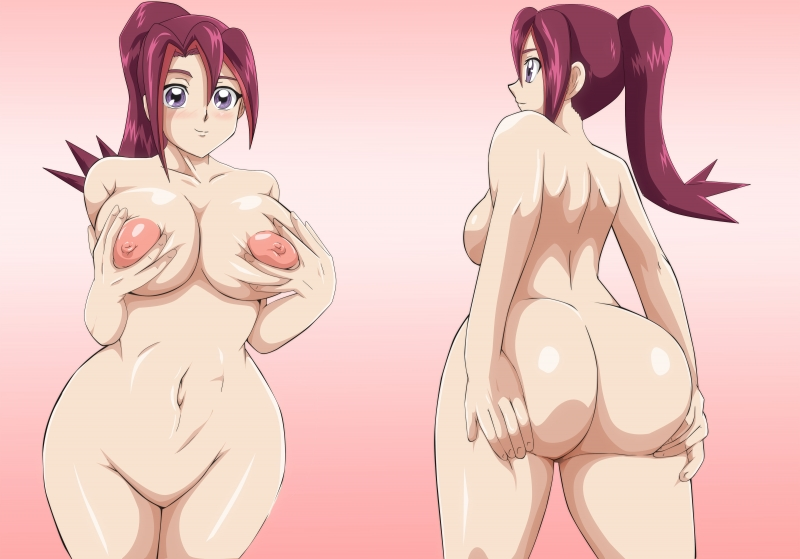 Check out Kari Tsukumo's kinks from the front and from the back!
