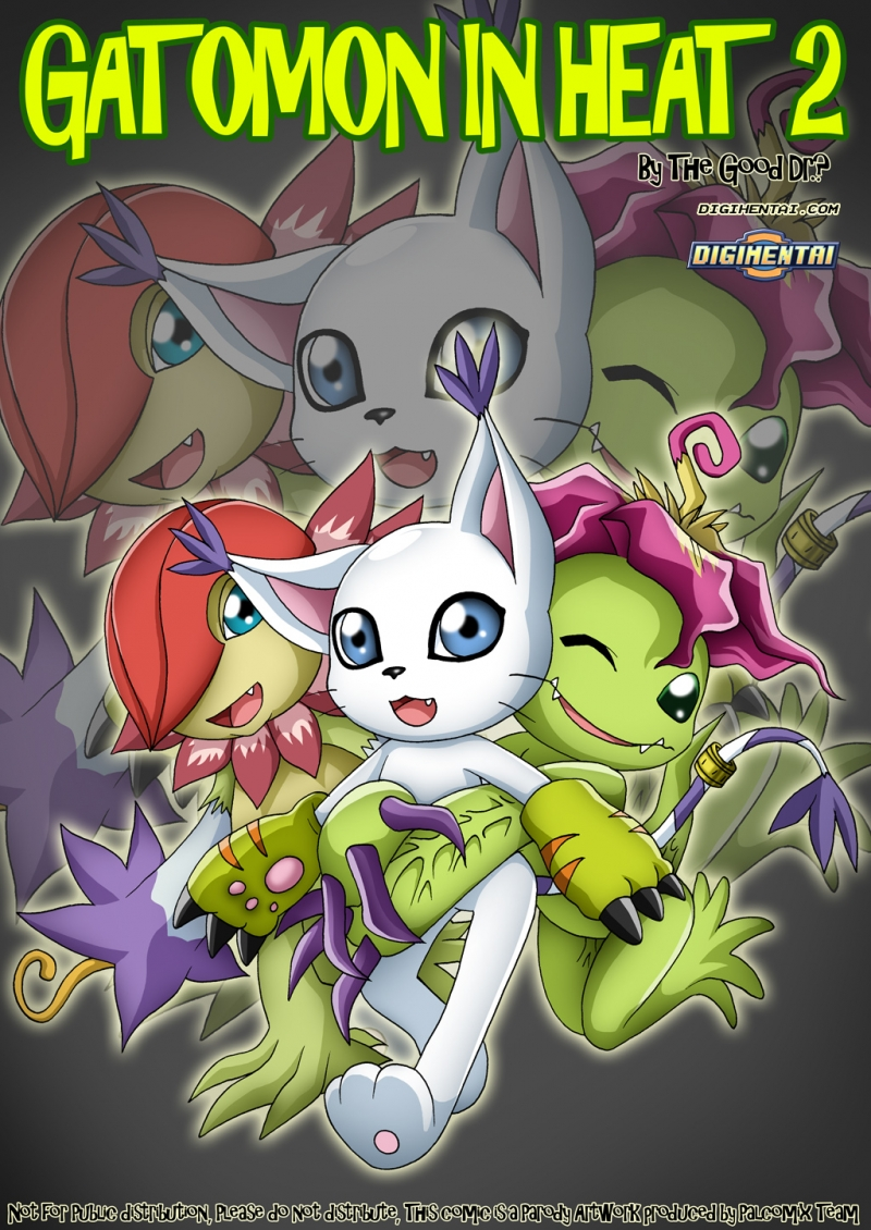 Gatomon in Heat 2: Naughty Gatamon starts a digimon orgy!