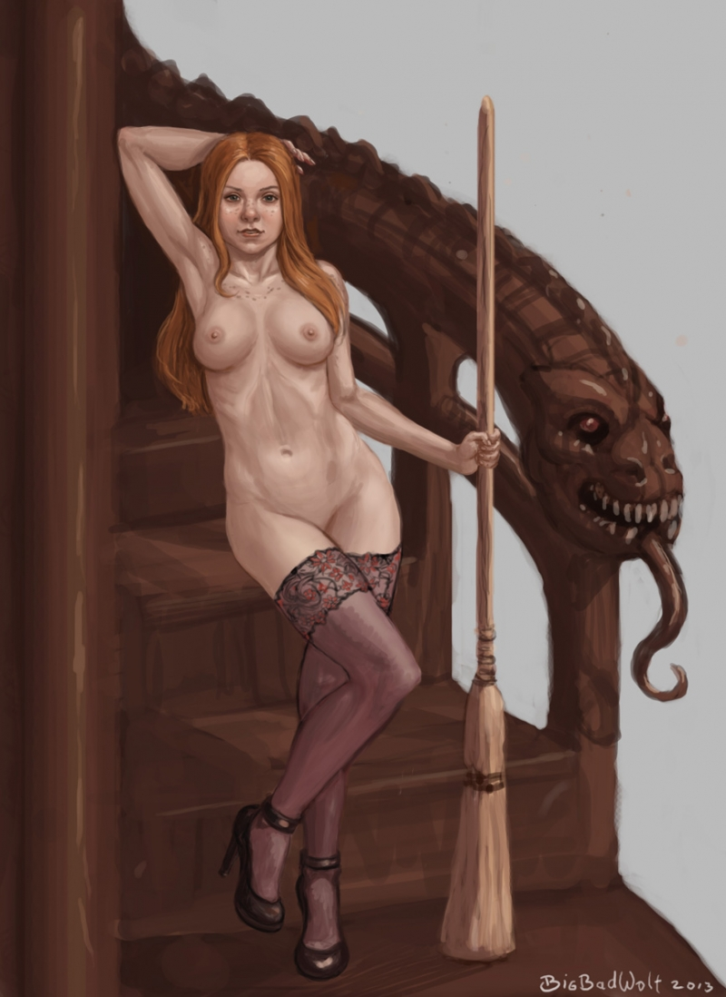 Cartoon Harry Potter Nude