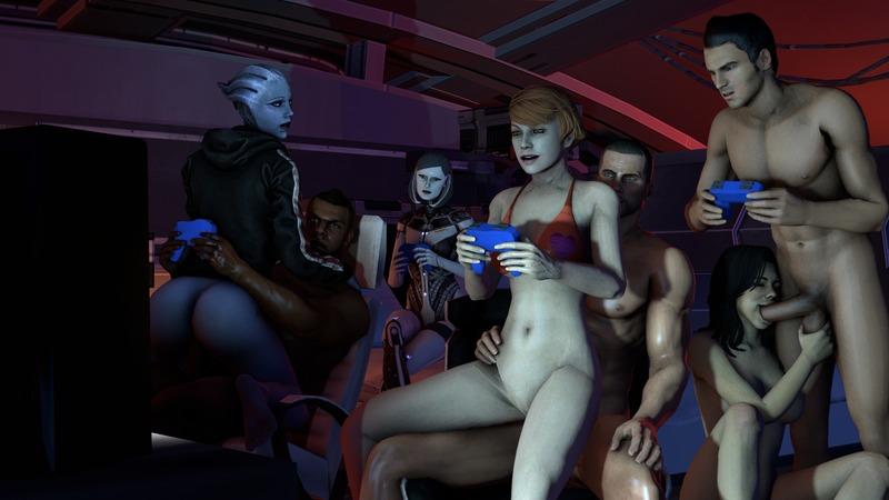 1149195 - Commander_Shepard EDI James_Vega Kaidan_Alenko Kelly_Chambers Liara_T'Soni Mass_Effect Mass_Effect_3 Miranda_Lawson knogg.jpeg