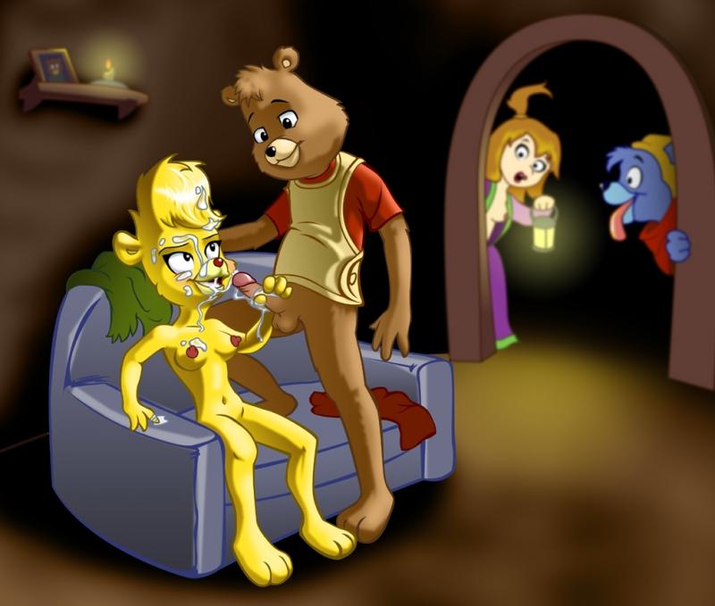 179213 - AdamantP Gummi_Bears Gusto_Gummi Princess_Aruzia Sunni_Gummi Teddy_Ruxpin crossover.jpg