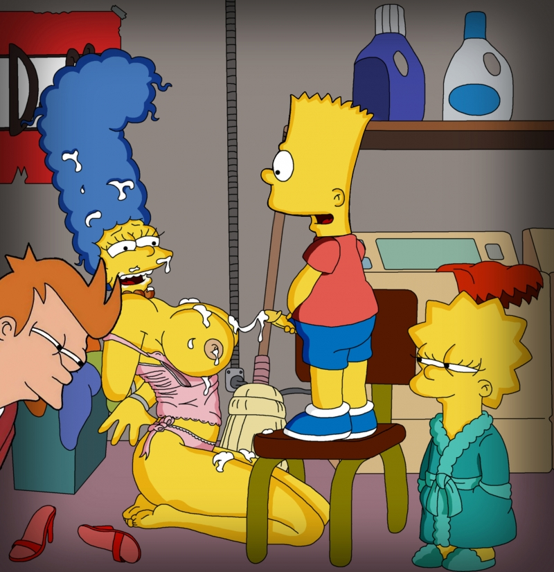 Simpsons Family Xxx