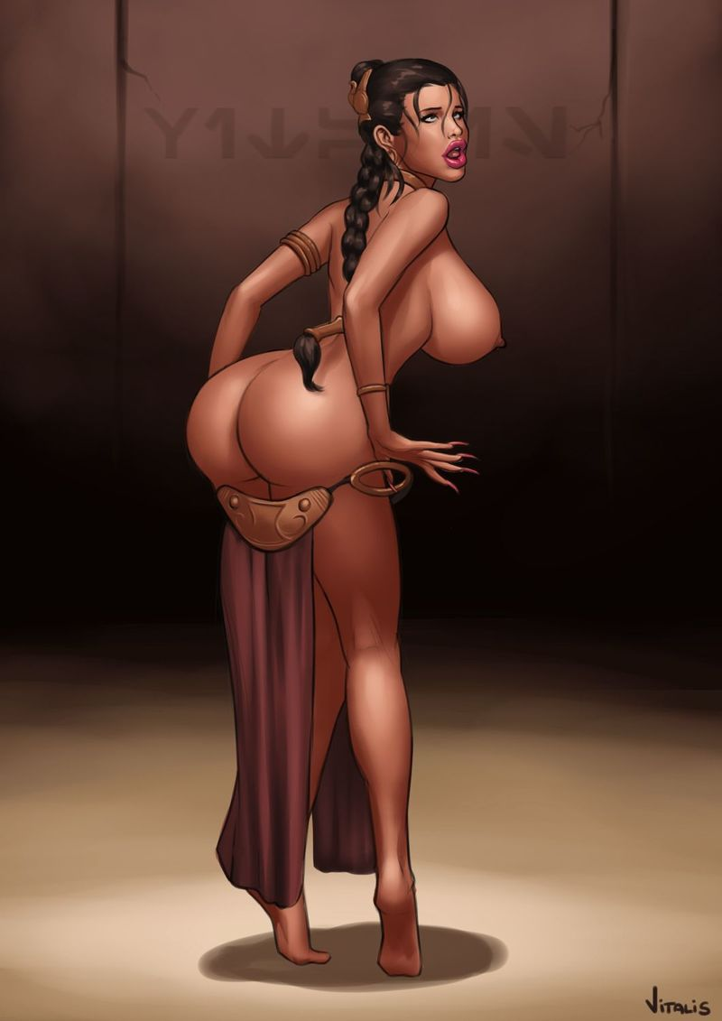 Isn't Princess Leia have the the biggest rump in episodes IV-VI?