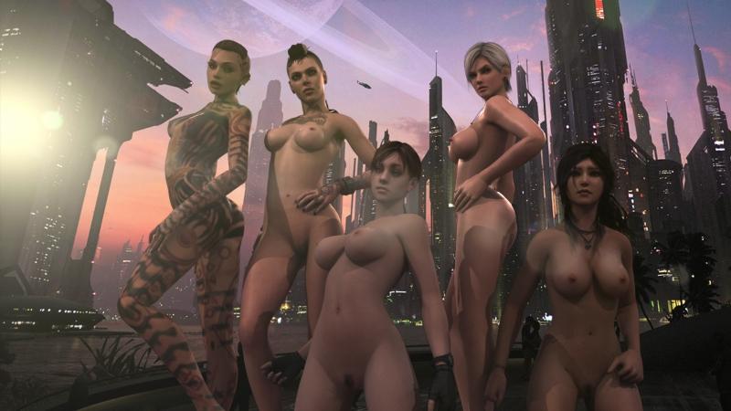 Resident Evil Porn Game