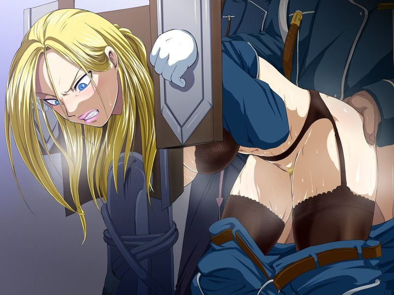 Olivier Mira Armstrong was not planning to get into situation like this when she got up in the morning