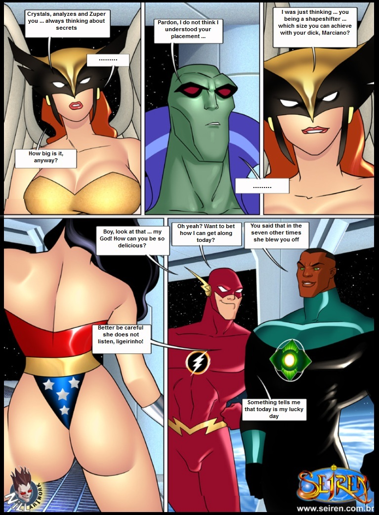 Justice League Hentai Videos