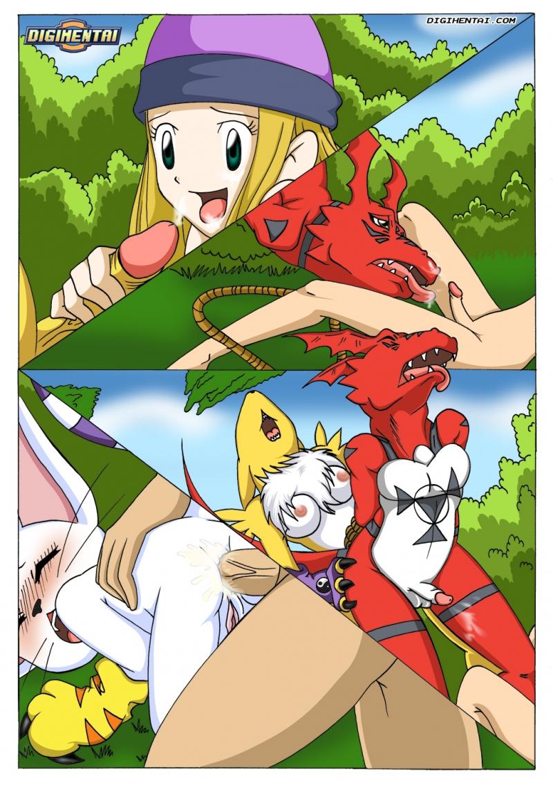 Digimon Hentai Porn Doujinshi