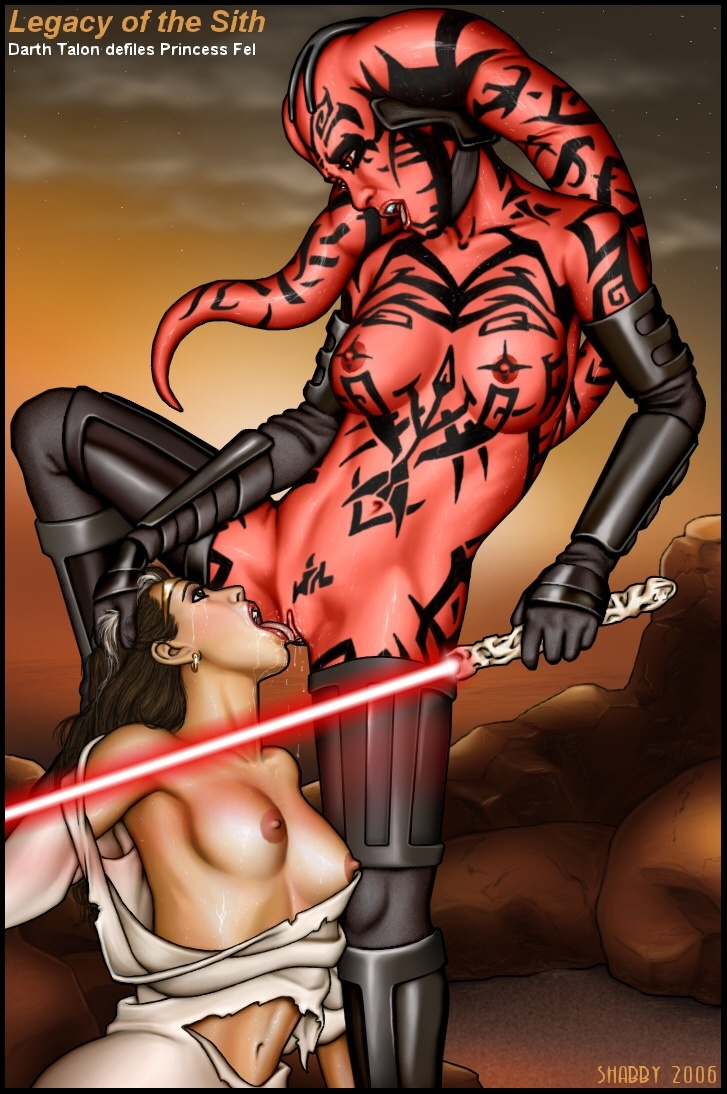 Sex Star Wars