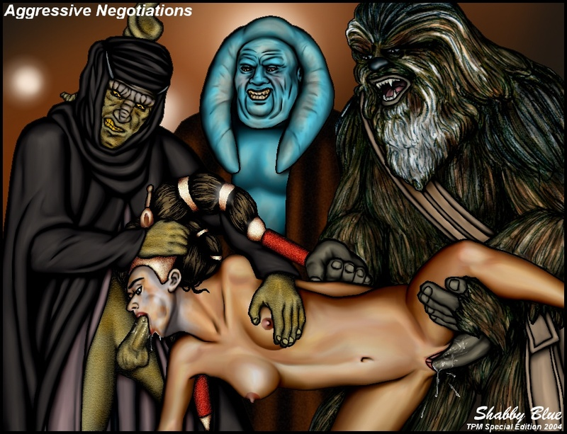 Cortoon Star Wars Sex