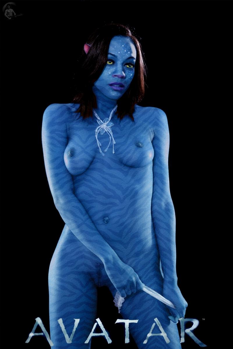 692853 - James_Cameron's_Avatar Na'vi Neytiri Zoe_Saldana fakes realschrambo.jpg
