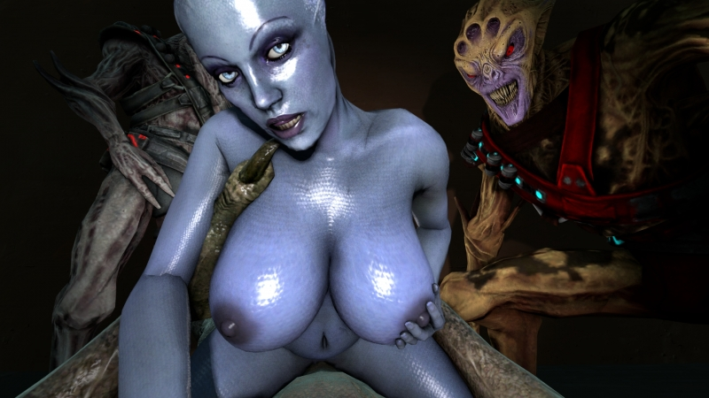 Vorchas enjoy to pound mind-blowing asari bitches as Liara right here!
