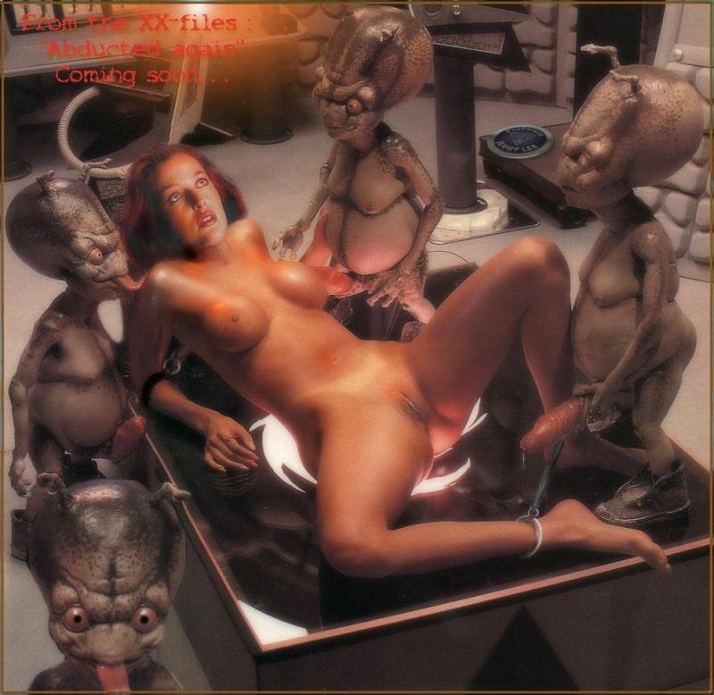 138146 - Dana_Scully Gillian_Anderson X-Files fakes.jpg