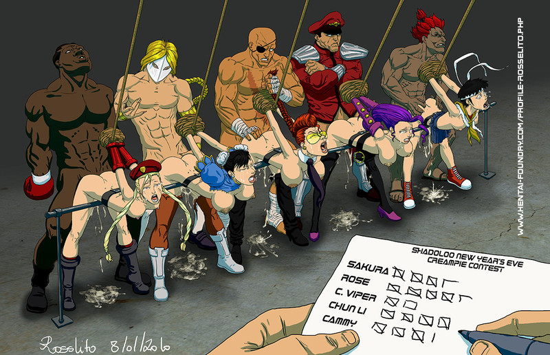 Street Fighters Girls Naked Getting Fucked
