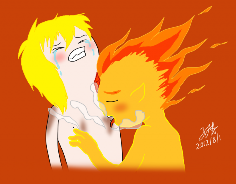 900438 - Adventure_Time Finn_the_Human Zjg flame_prince.png