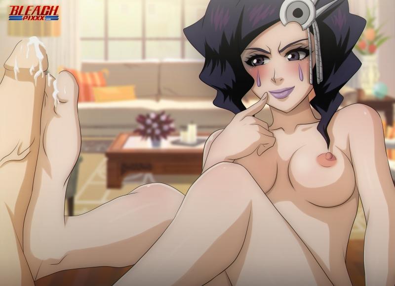 Shiba Kuukaku Orihime Inoue Rangiku Matsumoto Foot_Massage.jpg