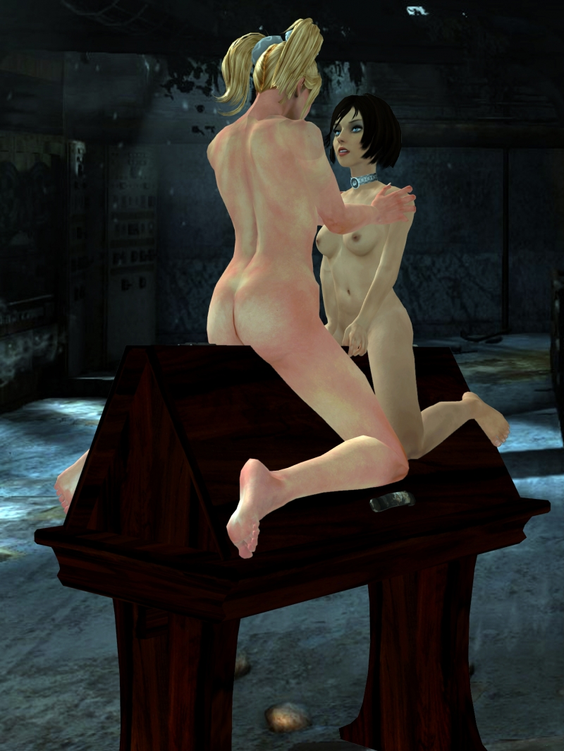 1131469 - Bioshock Bioshock_Infinite Elizabeth Juliet_Starling Lollipop_Chainsaw XNALara crossover.jpg