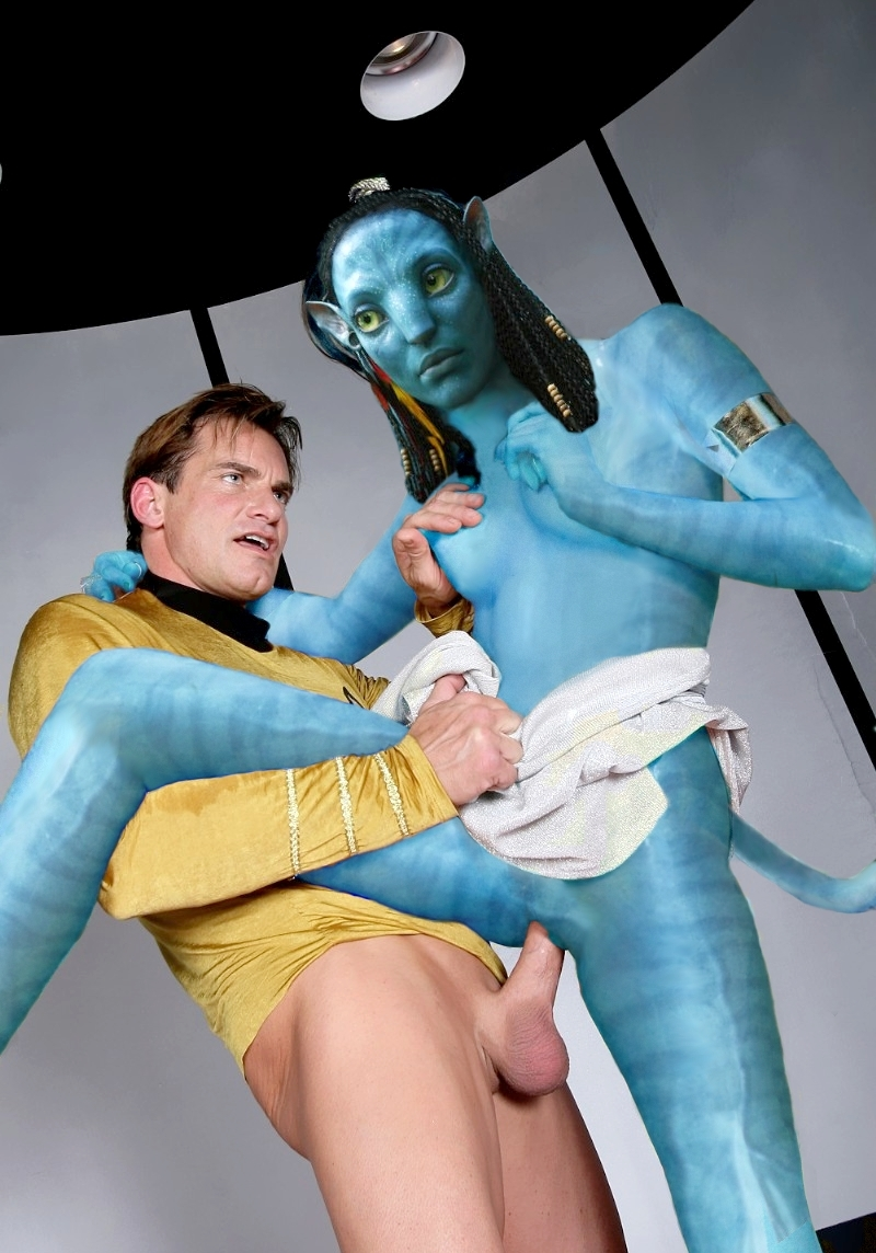 Anson Langley 406698 - James_Cameron's_Avatar James_T._Kirk Na'vi Neytiri Star_Trek crossover.JPG