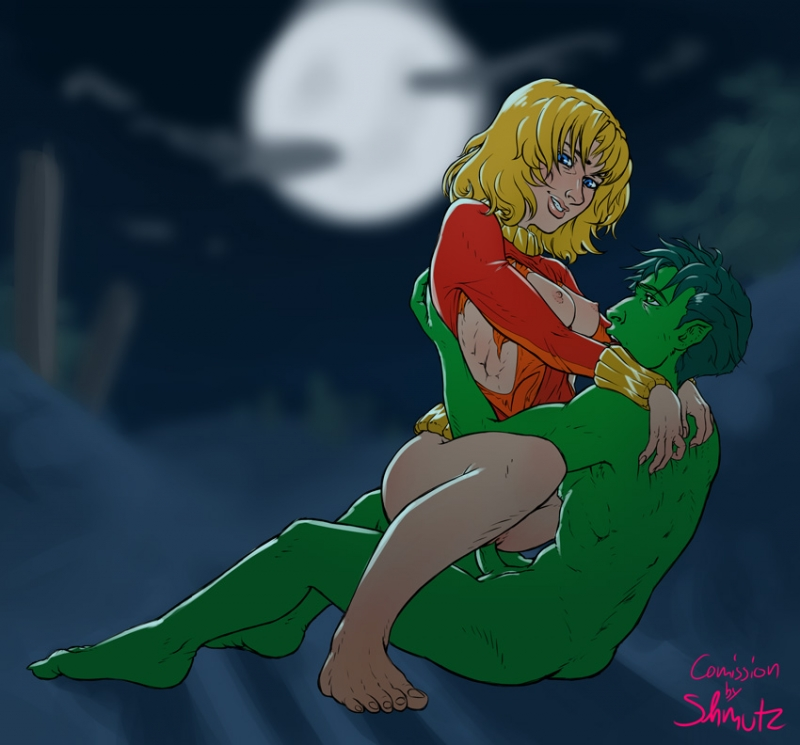 1285563 - Beast_Boy DC Shmutz Teen_Titans Terra.jpg