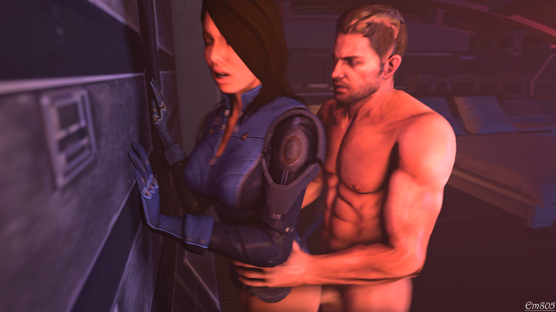1264775 - Ashley_Williams Chris_Redfield Mass_Effect Mass_Effect_3 Resident_Evil crossover em805 source_filmmaker.png