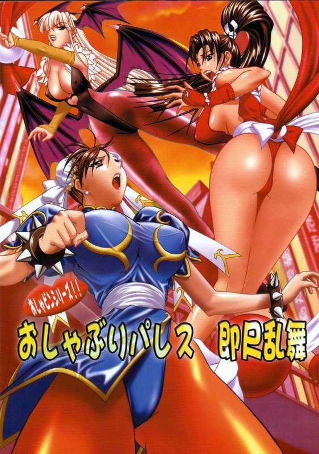Streetfighter porn comics - Oshaburi Building