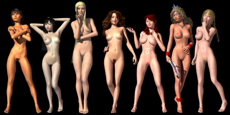 Greatest honeys of Hogwarts posing bare - what a magic look really!