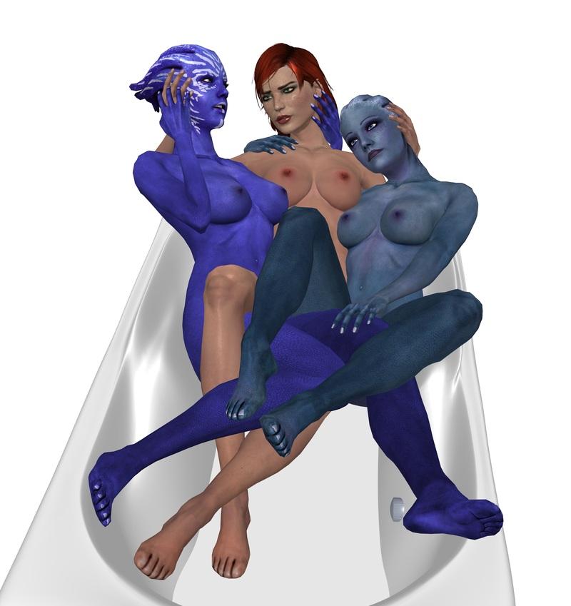 1224662 - Asari Commander_Shepard Councilor_Tevos FemShep Liara_T'Soni Mass_Effect theduckyking.jpg