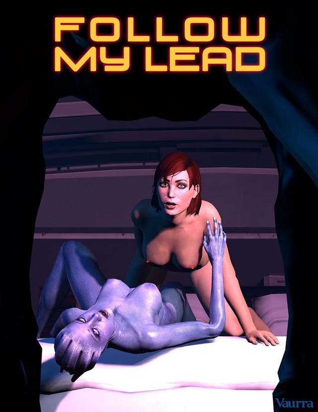 Follow My Lead: Female Shepard might be too slutty for exploring missions after all